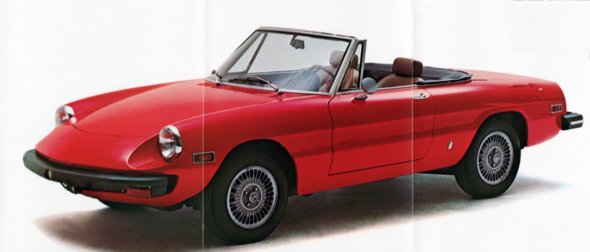 AutoBrochurescomAlfa Romeo Car PDF Sales BrochuresCatalogs - 1986 alfa romeo spider for sale